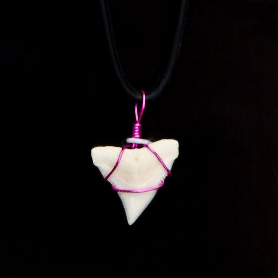 "5/8"" Bull Shark Necklace"