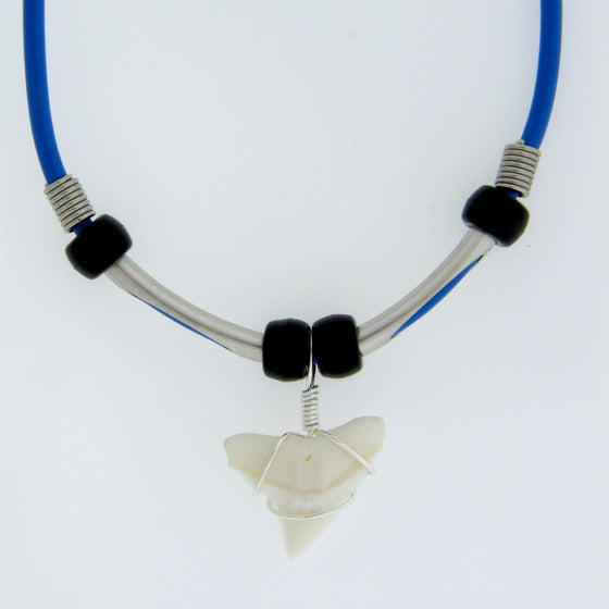 "7/8"" Bull Shark Pipes Necklace"