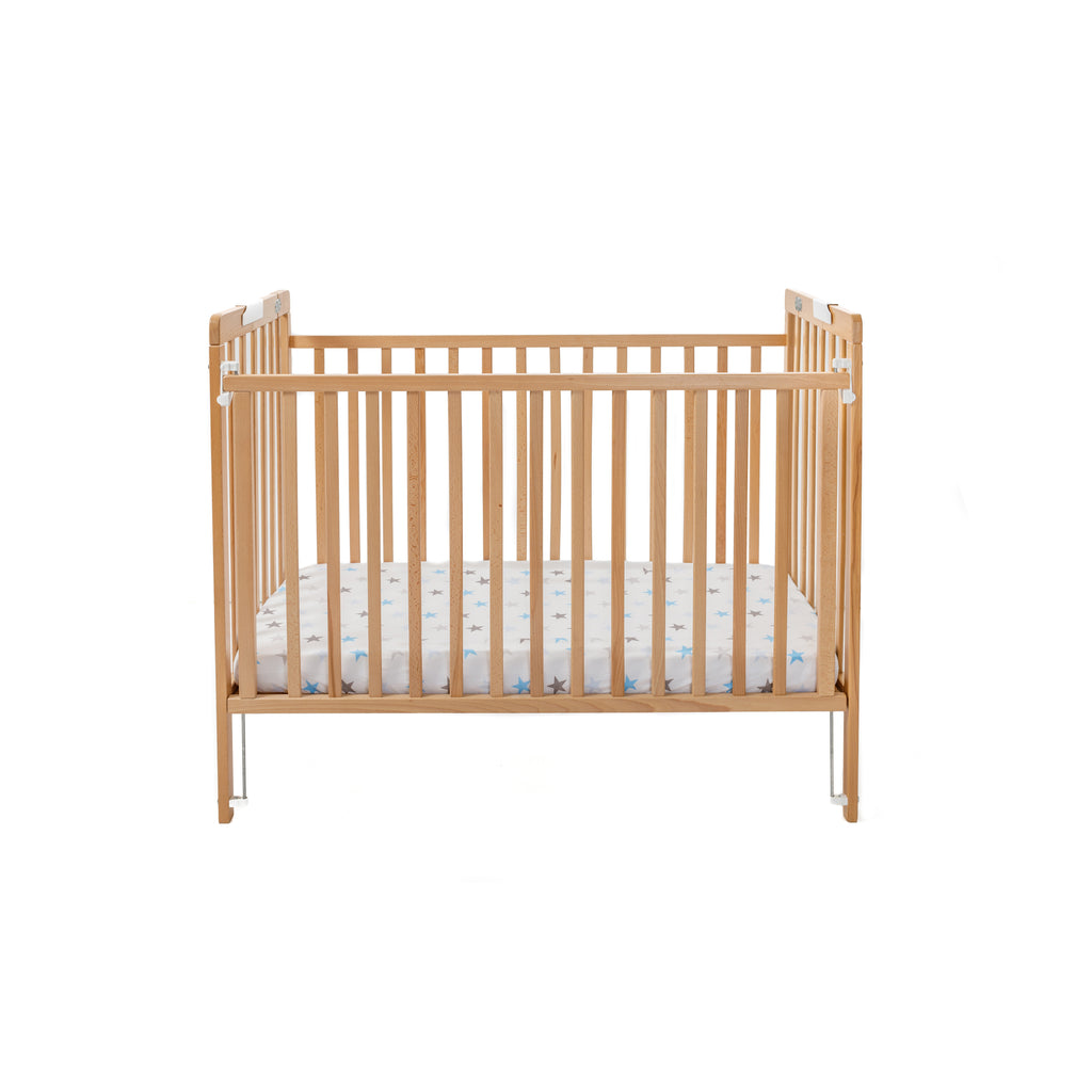 Baby Cot Wooden (includes mattress and sheet)