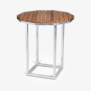 Wooden Parquet Cocktail Table