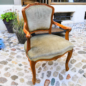 Hand-carved  antique chair