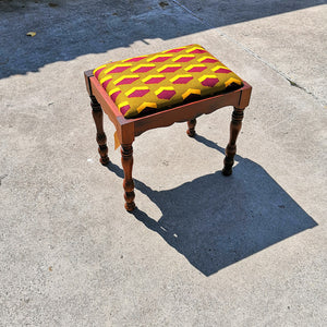 Second Hand Ghanaian fabric stool Basel