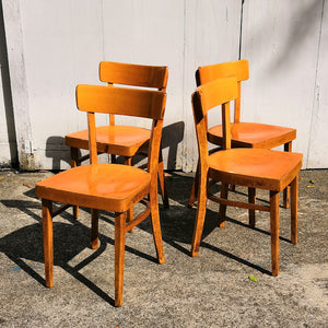 Wood Bistro Chairs
