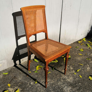 Antique Rattan Chair