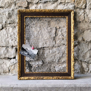 Vintage Frame for jewellery / notes
