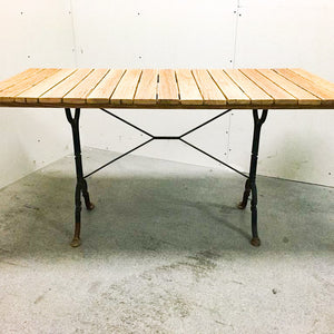 Handmade in Basel - Reclaimed local wood dining