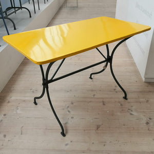Canary Metal Table (reserved)