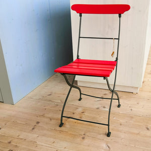 Folding patio chair