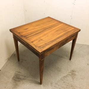 Walnut extendable table (reserved)