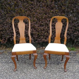 Queen Anne Antique Chairs
