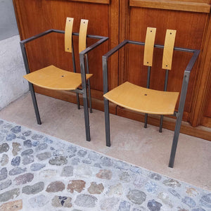 Industrial Steel Chairs