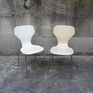 Danish stacking chairs (2)
