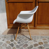 White Plastic Shell chairs