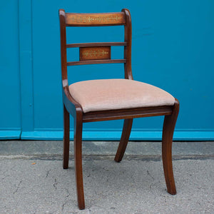 Regency-style Mahogany Chair