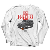 ENGLAND'S TOUGHEST EVER DEFENDER LONG SLEEVE T-SHIRT