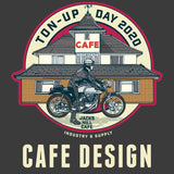 JACKS HILL CAFE TON-UP DAY LADIES BASEBALL SHIRT