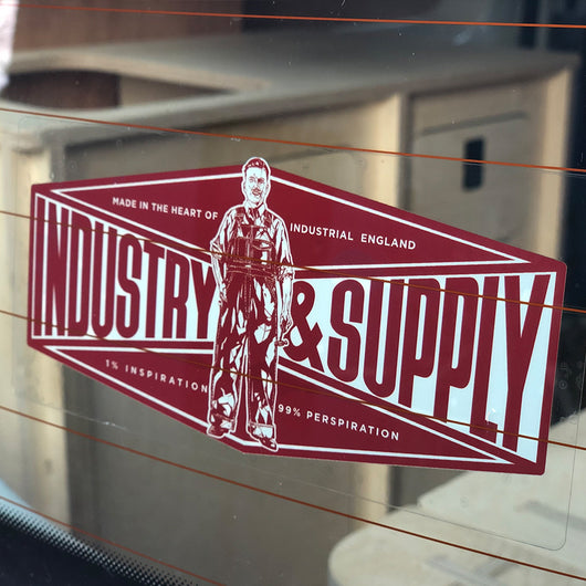 INDUSTRY & SUPPLY DECAL