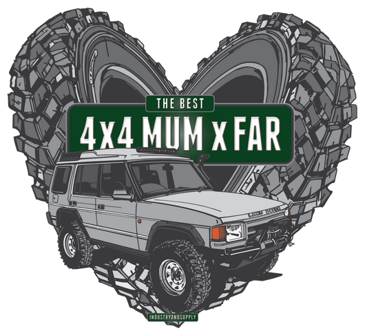 THE BEST 4 X 4 MUM X FAR DISCOVERY FREEFLOW LONG SLEEVE T-SHIRT