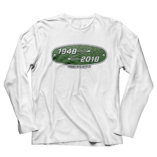 LAND ROVER 70TH BIRTHDAY LONG SLEEVE T-SHIRT