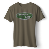 LAND ROVER 70TH BIRTHDAY T-SHIRT