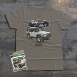 LAND ROVER 70TH BIRTHDAY DISCOVERY T-SHIRT