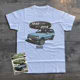 LAND ROVER 70TH BIRTHDAY RANGE ROVER T-SHIRT