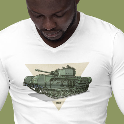 CHURCHILL TANK LONG SLEEVE T SHIRT