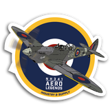 AERO LEGENDS STICKERS
