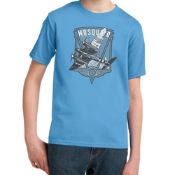 LINCOLNSHIRE AVIATION MOSQUITO KID'S T-SHIRT