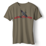 AERO LEGENDS UTILITY NH341 2-SEATER SPITFIRE T-SHIRT