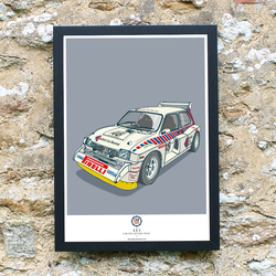 CAR S.O.S. MG METRO ART PRINT