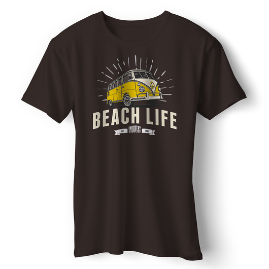BEACH LIFE VW BUS T-SHIRT