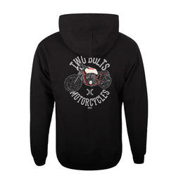 Two Bolts Motorcycles Hoodie Back