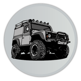 LAND ROVER DEFENDER PIN BADGES