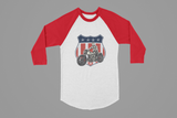 STARS & STRIPES HARLEY BASEBALL SHIRT