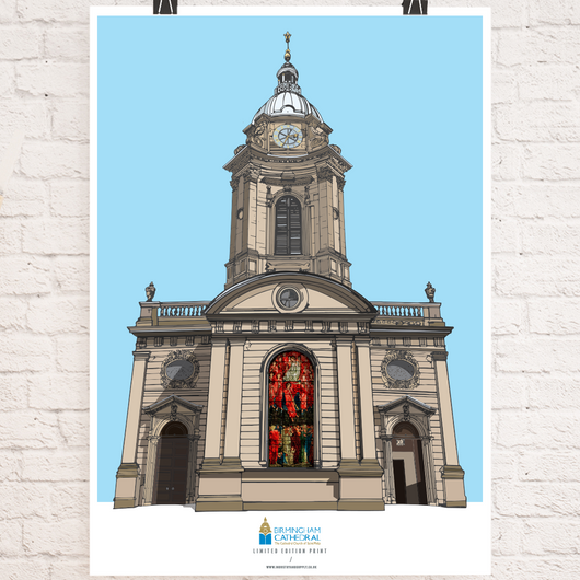 BIRMINGHAM CATHEDRAL ART PRINT