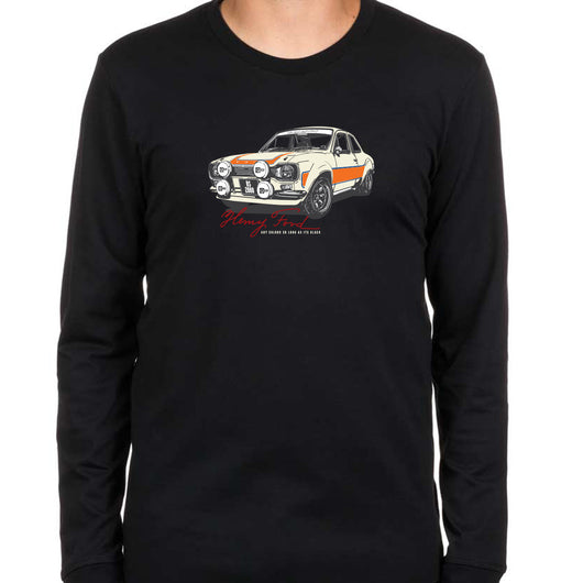 henry ford escort mk1 rs2000 black long sleeve