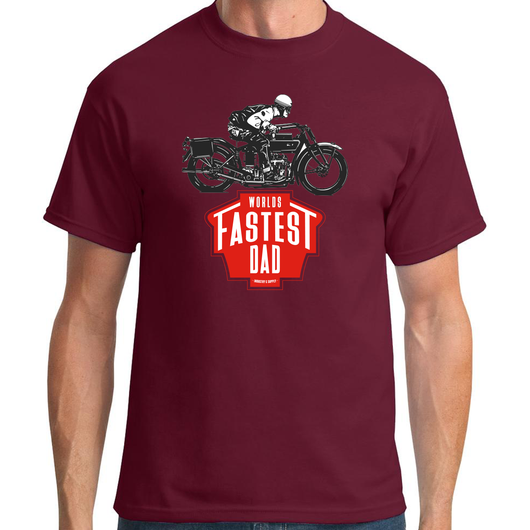 WORLD'S FASTEST DAD HENDERSON T-SHIRT