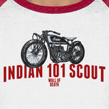 INDIAN 101 SCOUT BASEBALL SHIRT