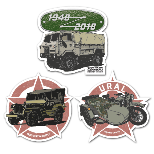 MILITARY BUNDLE II STICKER BUNDLE