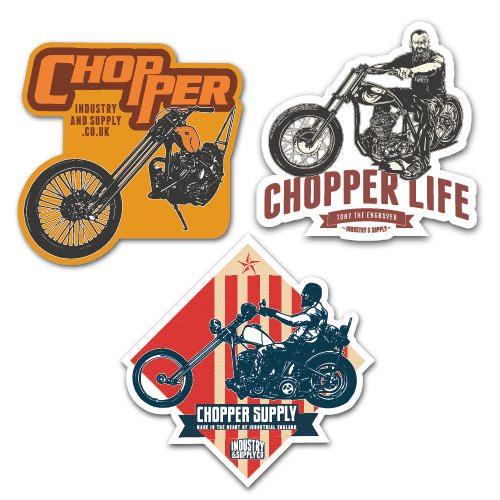 CHOPPER STICKER BUNDLE