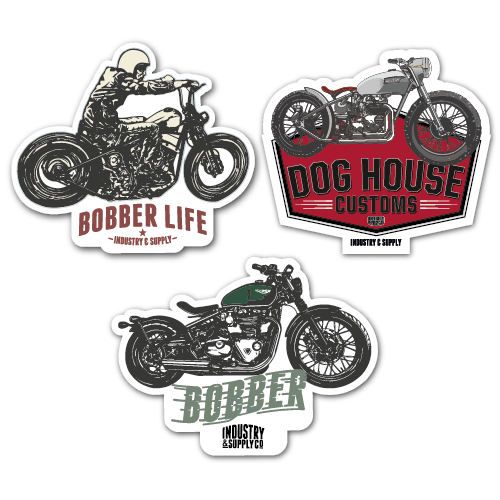 BOBBER STICKER BUNDLE