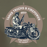 FIREPOWER SHOW WW2 INDIAN T-SHIRT