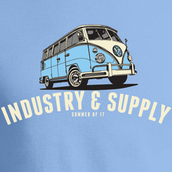 SUMMER OF 17 VW BUS T-SHIRT
