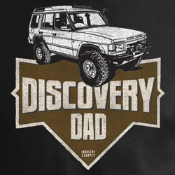 LAND ROVER DADS DISCOVERY DAD T-SHIRT