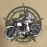 FIREPOWER SHOW BSA M20 T-SHIRT