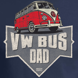 VOLKSWAGEN BUS DAD T-SHIRT
