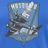 LINCOLNSHIRE AVIATION MOSQUITO LADIES V-NECK T-SHIRT