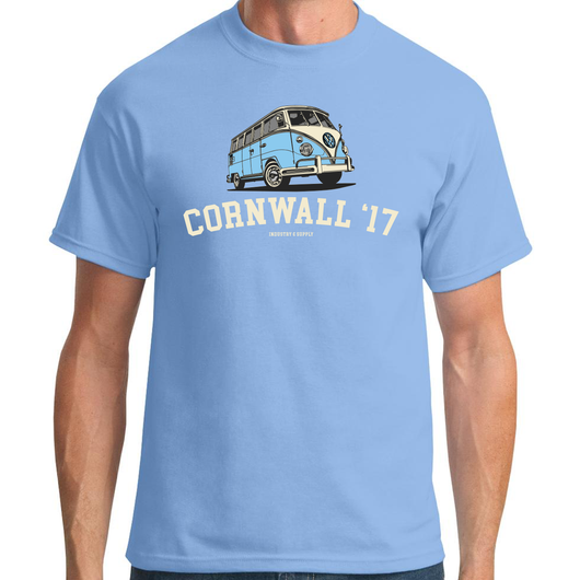HOLIDAY DESTINATION VW BUS T-SHIRT