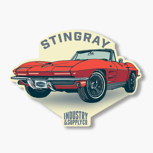 CORVETTE STINGRAY STICKER